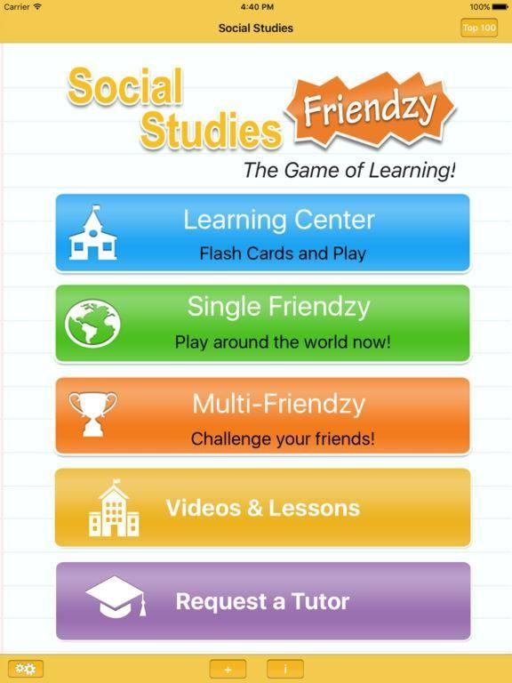 Social Studies Frenzy